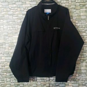 Columbia Mens Black Light Weight jacket Coat XL